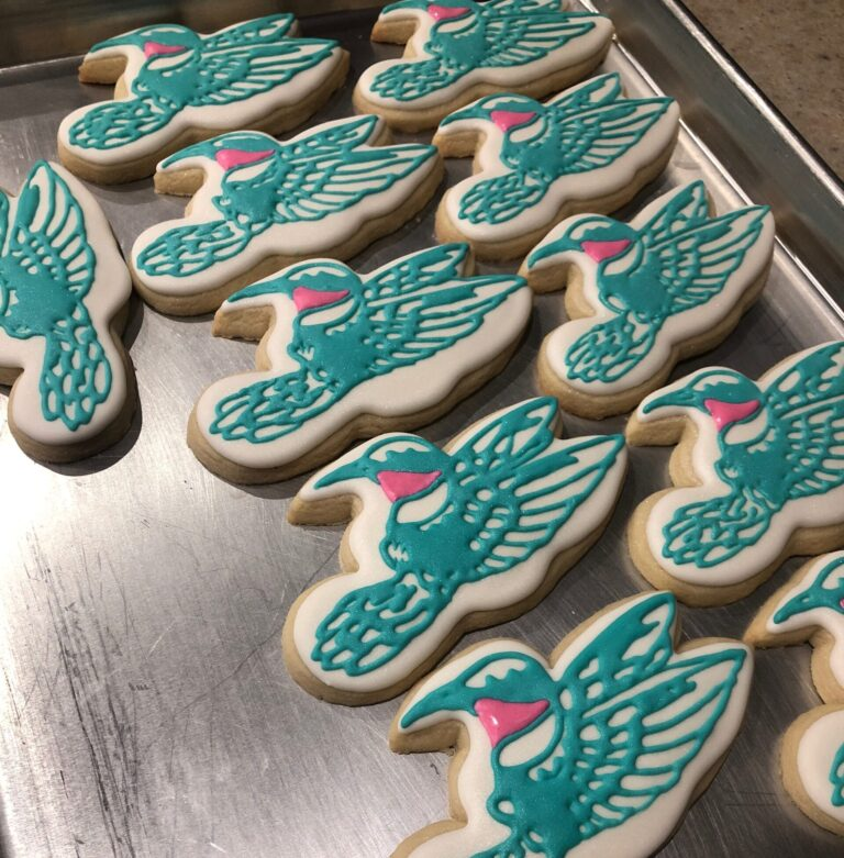 Beautiful MOG-AD awareness cookies by our friend Kerry Abraham
