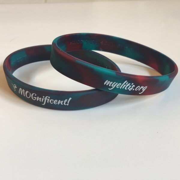 Our Multi-Color MOGnificent wristbands