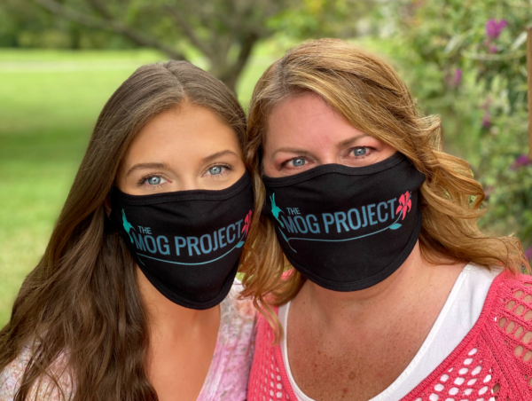Julia and Kristina in MOG Project Face Masks