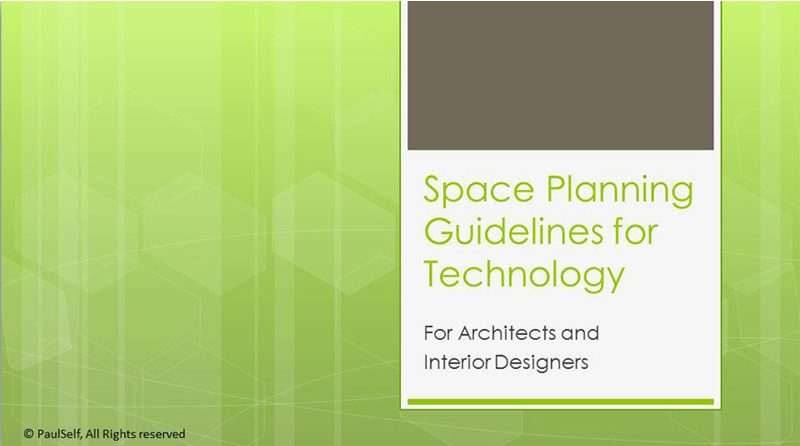 Space Planning for Technology