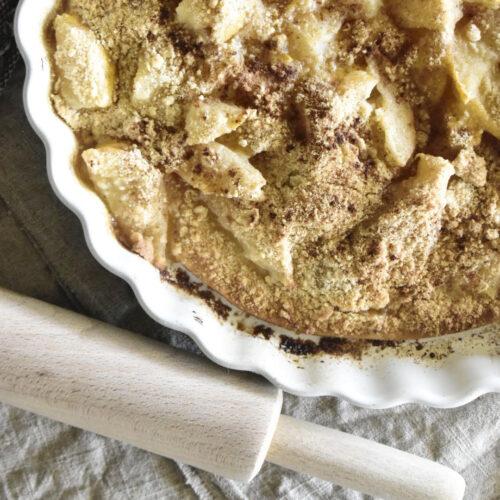 semi Homemade Pear tart