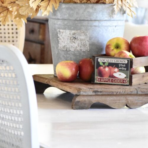 3 simple table ideas for everyday fall