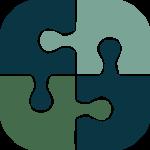 partnership puzzle icon color