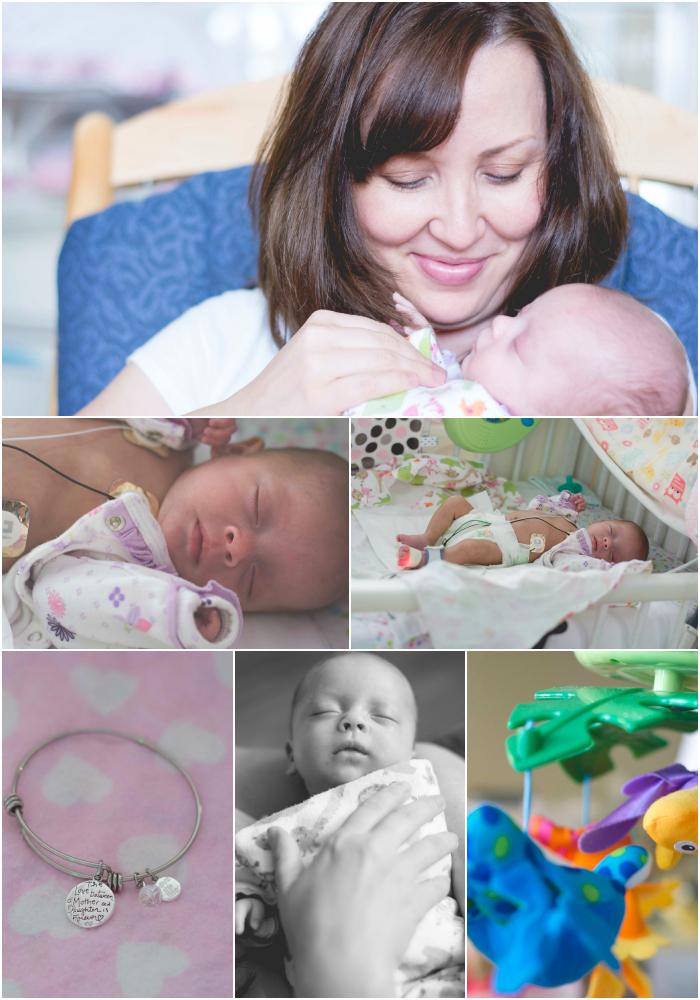 NICU Family Portrait Collage