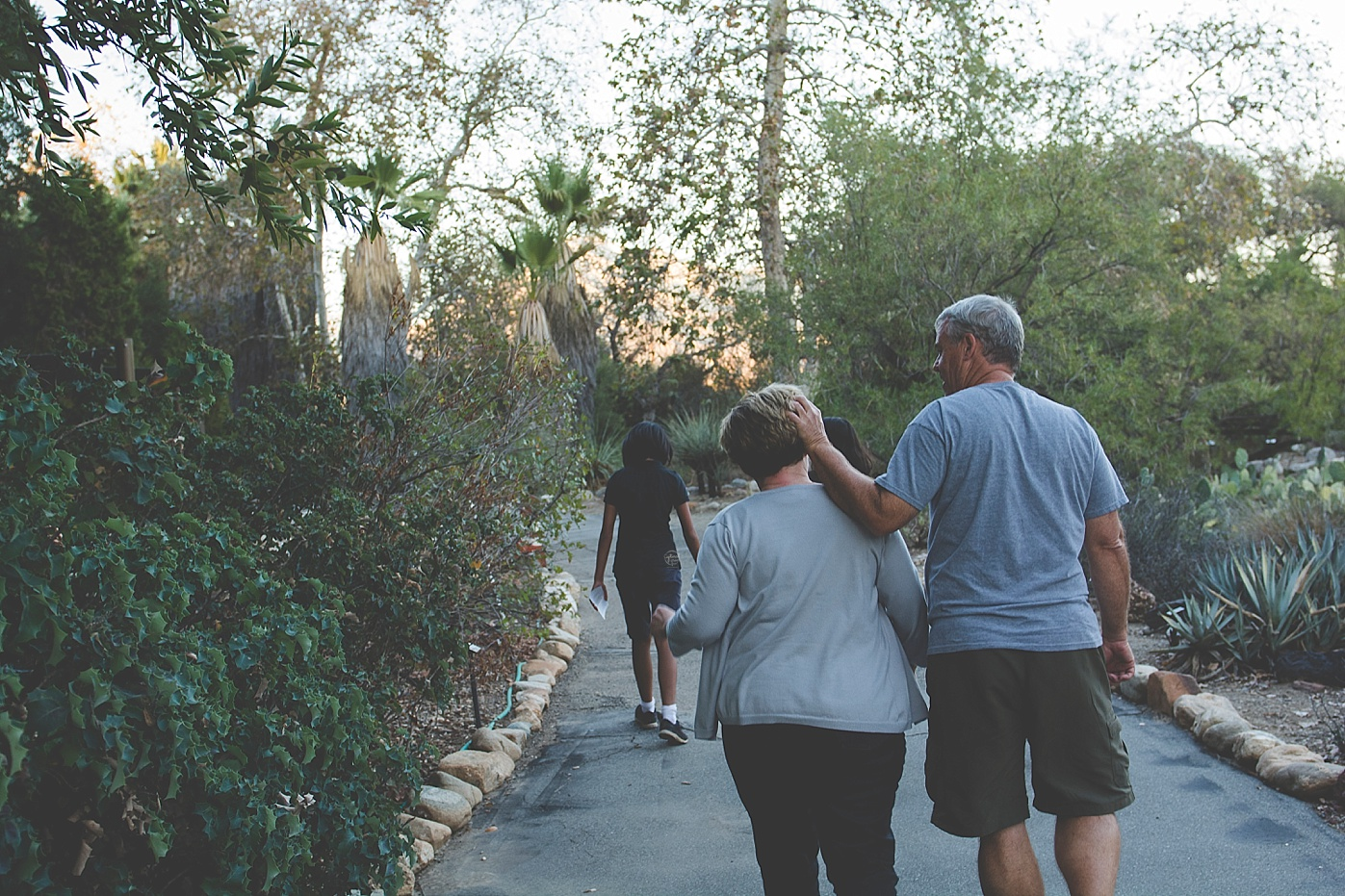 Family Documentary Session in Garden