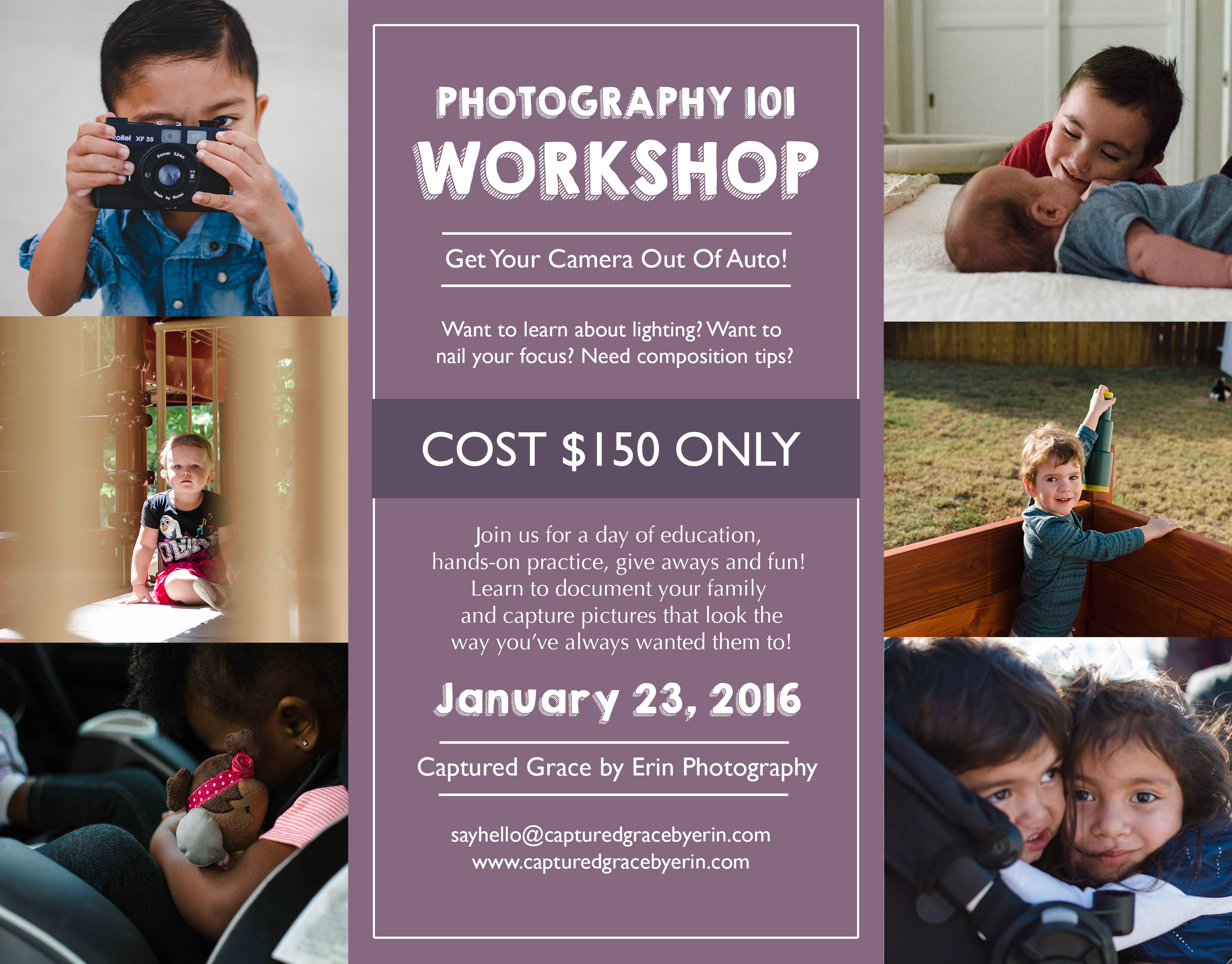 photo 101 workshop documentary family photography los angeles candid lifestyle