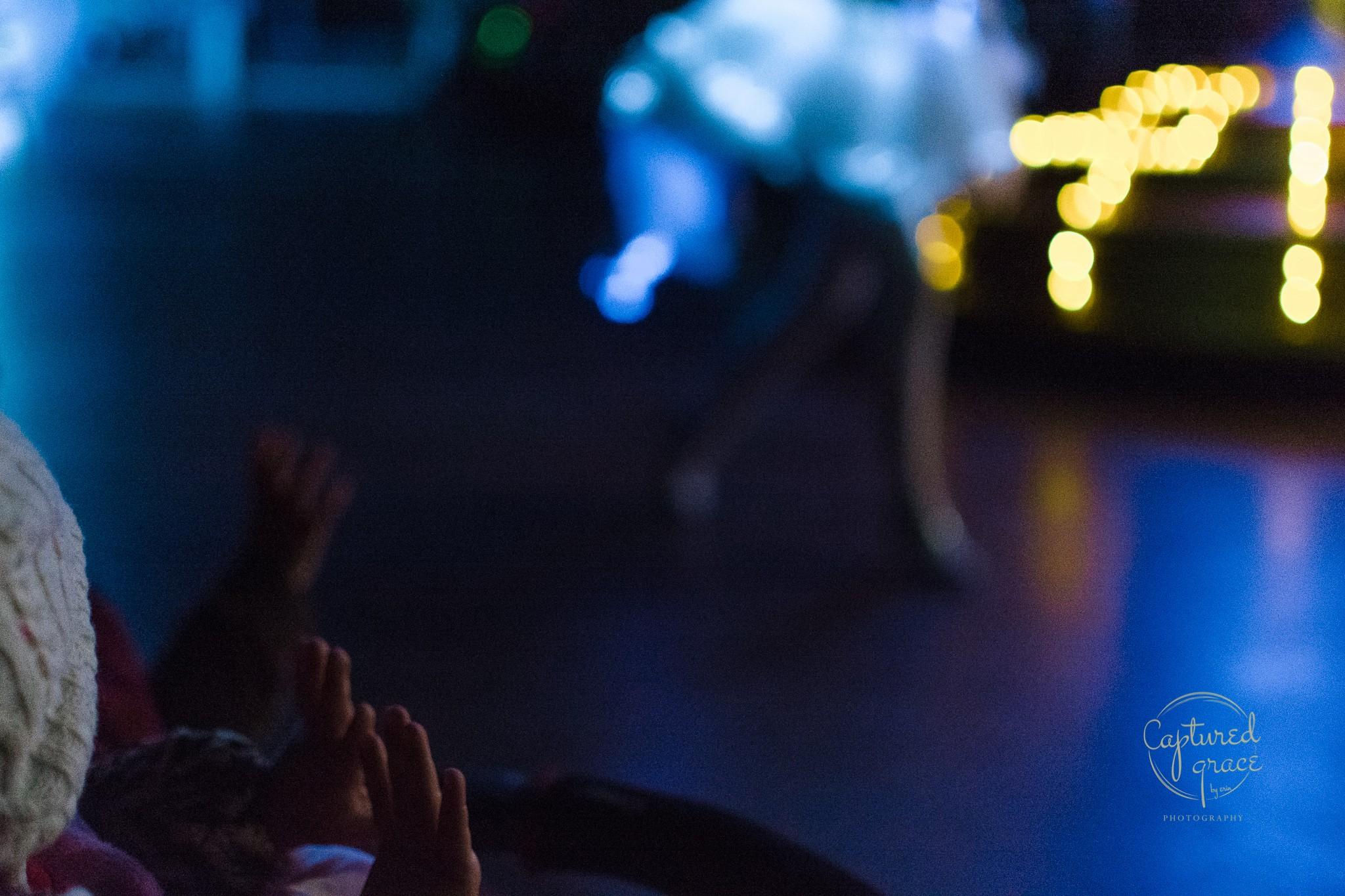 disney light parade documentary family photography