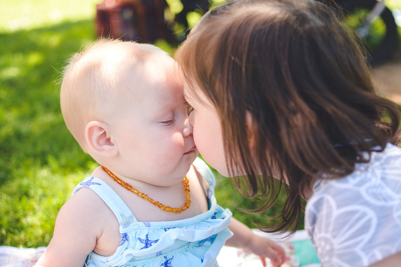toddler babies face to face ford park redlands captured grace by erin family photography