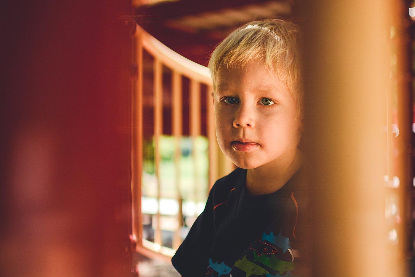 toddler boy on playground oak glen schoolhouse park captured grace by erin family photography