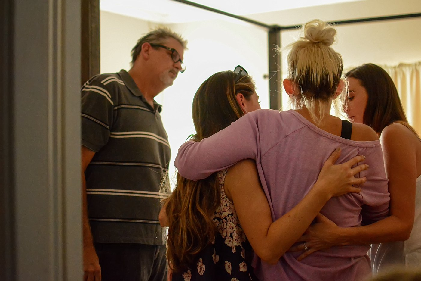friends lead her into her room homecoming las vegas shooting victim Chelsea Romo Captured Grace by Erin