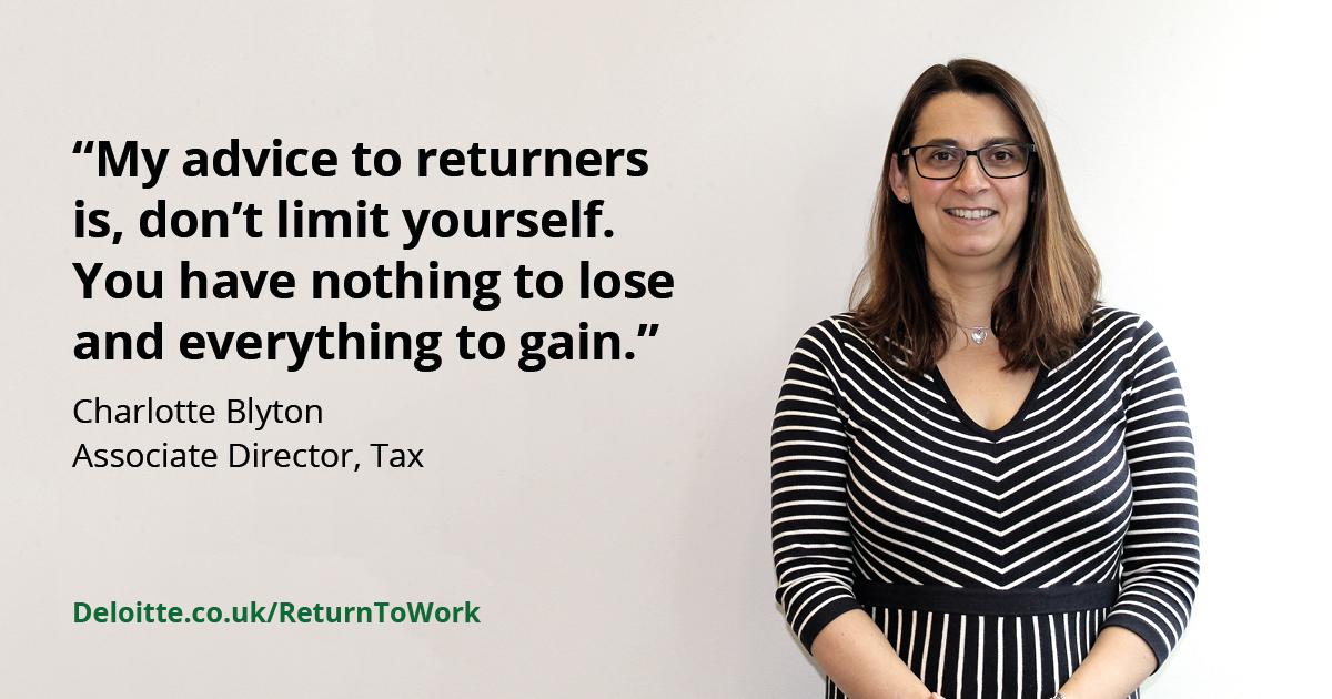 Deloitte.co.uk Return To Work