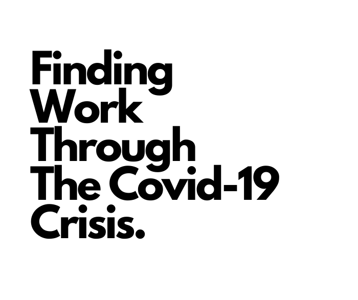 finding work through the covid crisis