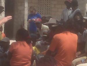 congregation from Pernier Haiti