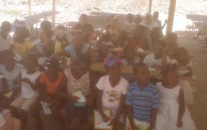 Children at Pastor Olistin's Church
