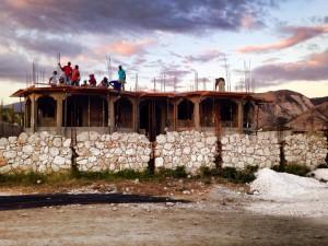 New Orphanage Under Construction in Onaville Haiti