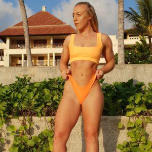 Beach model shoot