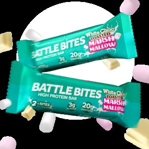 Battle Snacks - White Choc Toasted Marshmallow