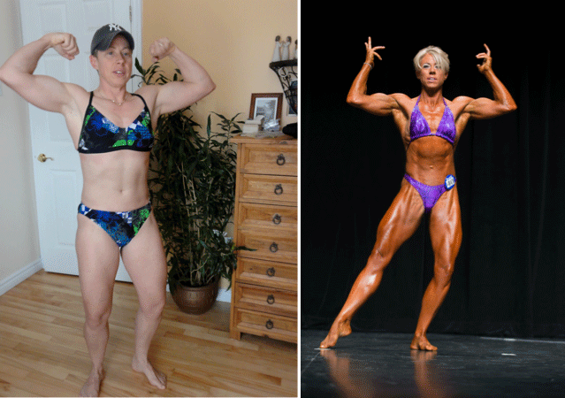 Sue Ross Before and After