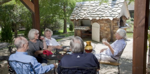 Marilyn Clark Outdoor kitchen