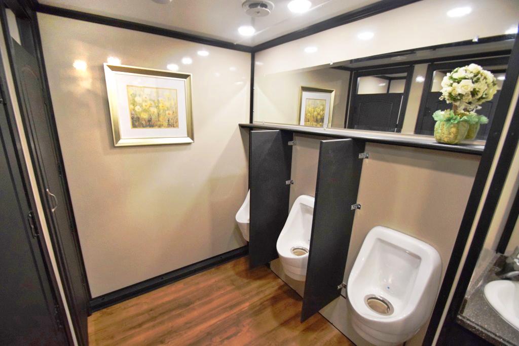 oil field restroom trailers