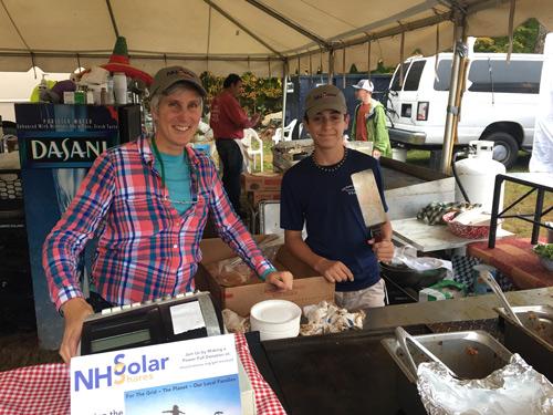 NH Solar Shares at Sandwich Fair