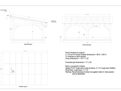 NH Solar Shares reveals solar pavilion design