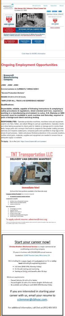 drive thru job fair