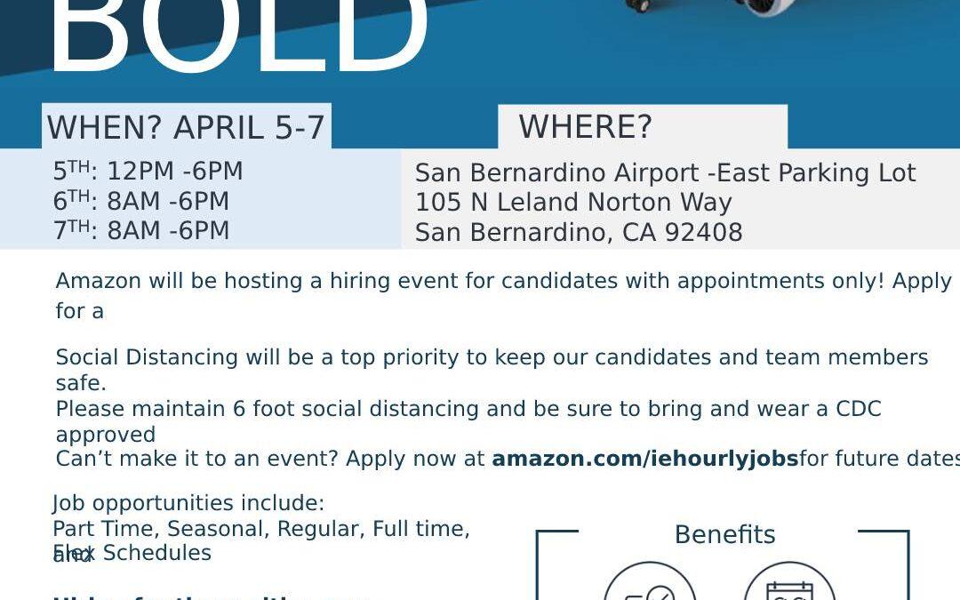 Amazon Hiring Event