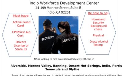 Community Opportunities: Absolute International Security Recruitment