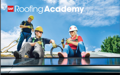 Outstanding training opportunity with GAF Roofing Academy