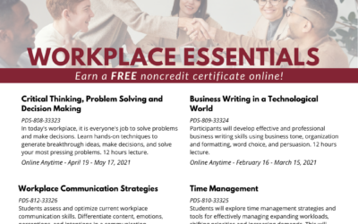 Norco College is offering Tuition Free Certificates this Spring