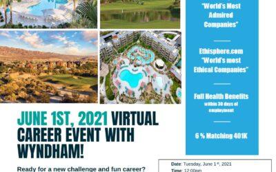 Virtual Hiring Event-Wyndham Destinations