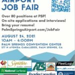 Palm Springs Airport Hiring Event
