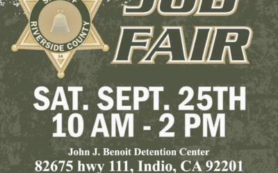 Riverside County Sheriff's Department Job Fair