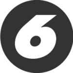 Number 6 icon_digs design