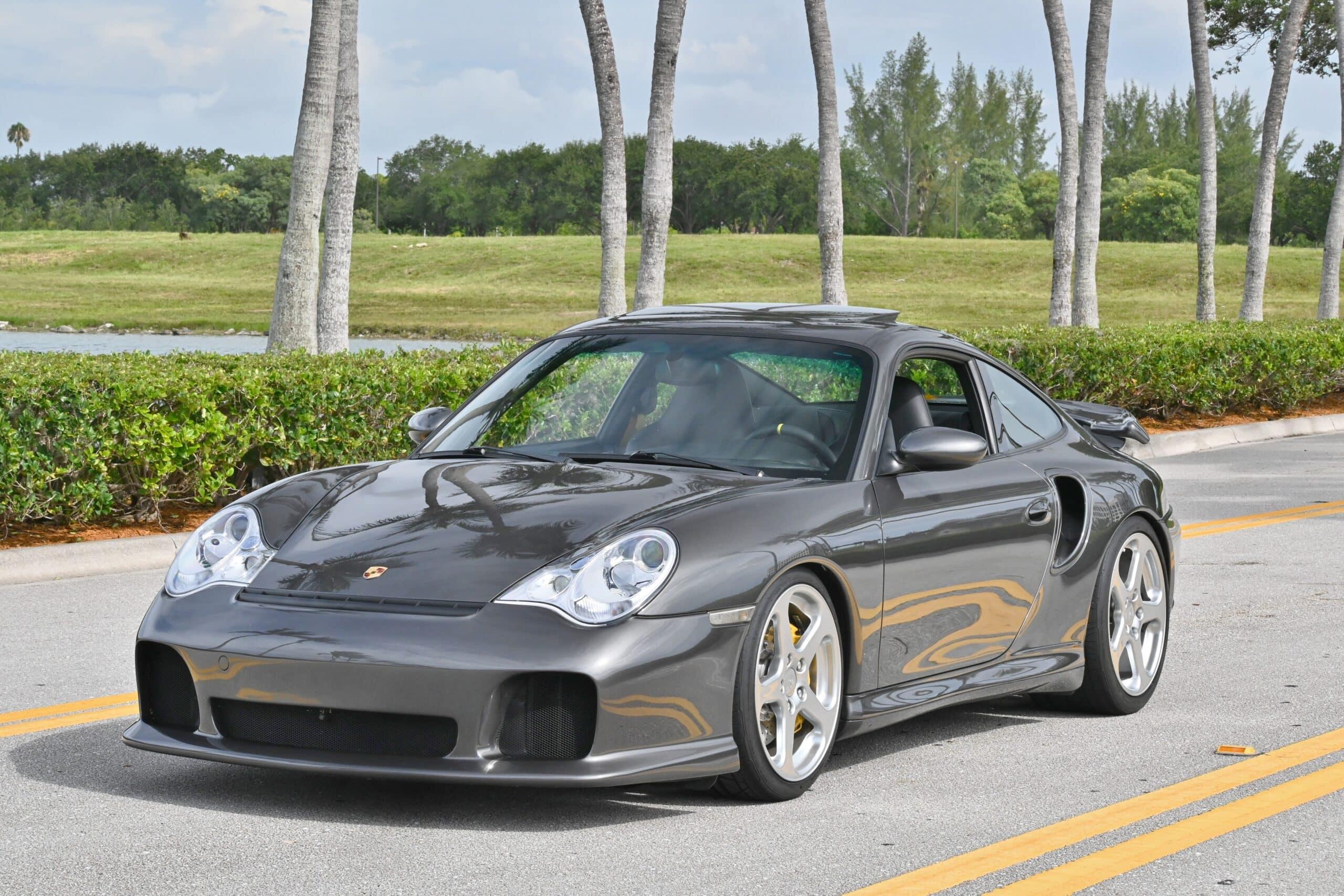 2005 Porsche 911 Turbo S 996 Original Paint-Carbon Ceramic Brakes-Sport Seats- RUF Upgrades- RARE TURBO S