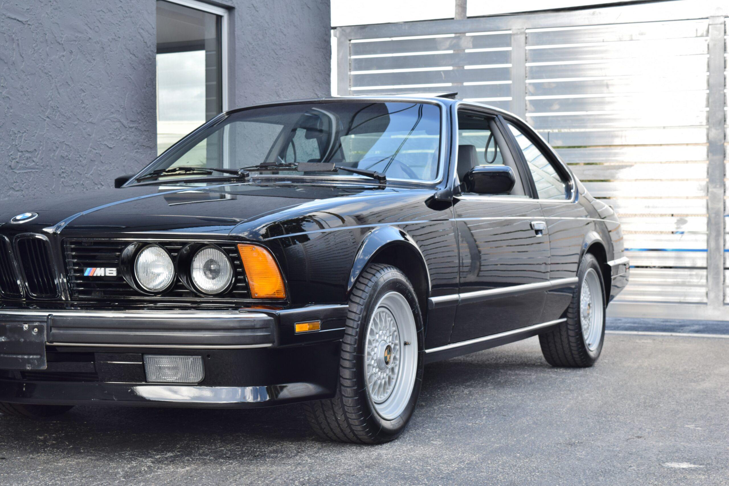 1988 BMW M6 E24 Excellent condition inside & out Service Records From New-Recent Full Service-
