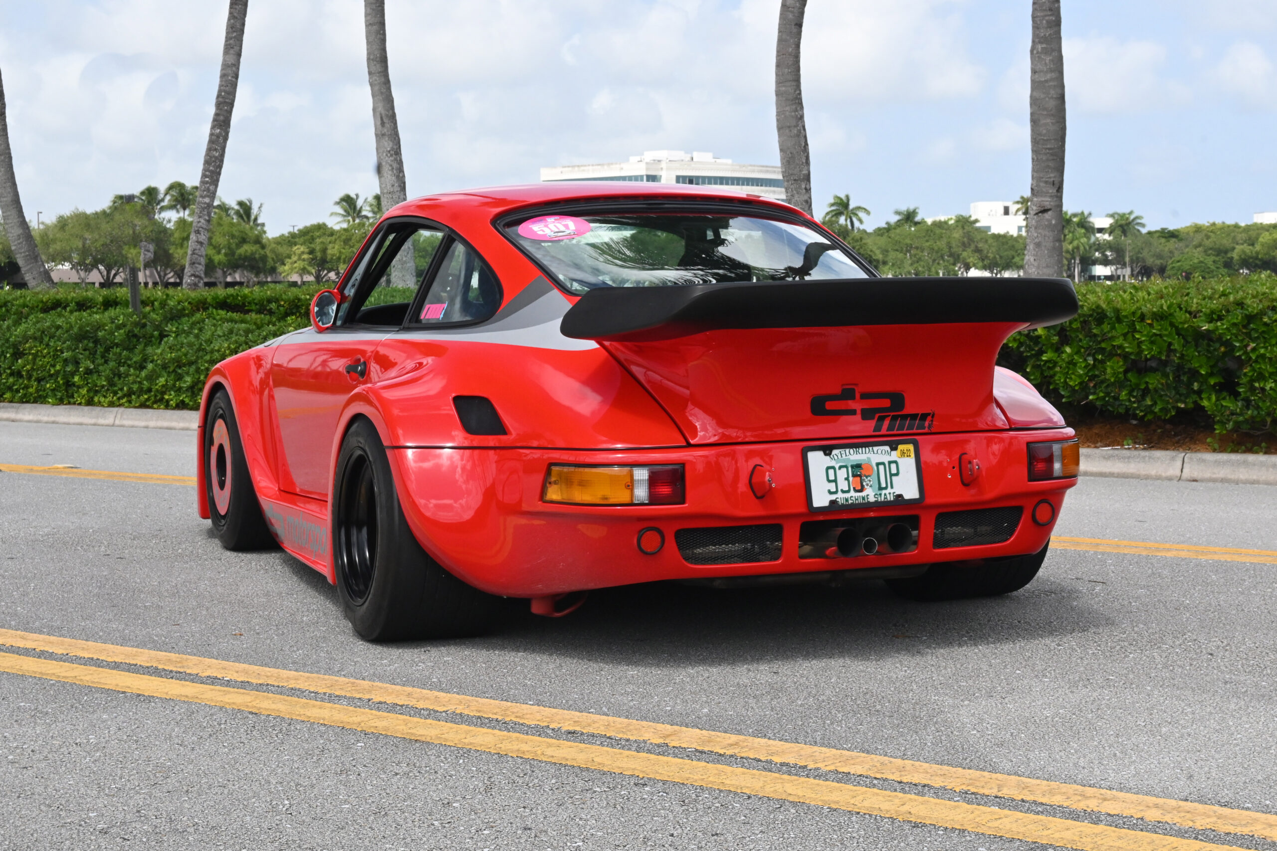 1989 DPII 935, DP VIN, ONE OF 4 LONG WINDSHIELD EVER MADE, COMPREHENSIVE 935 AERO, THE REAL DEAL, POWERED BY AN RS TUNING ENGINE