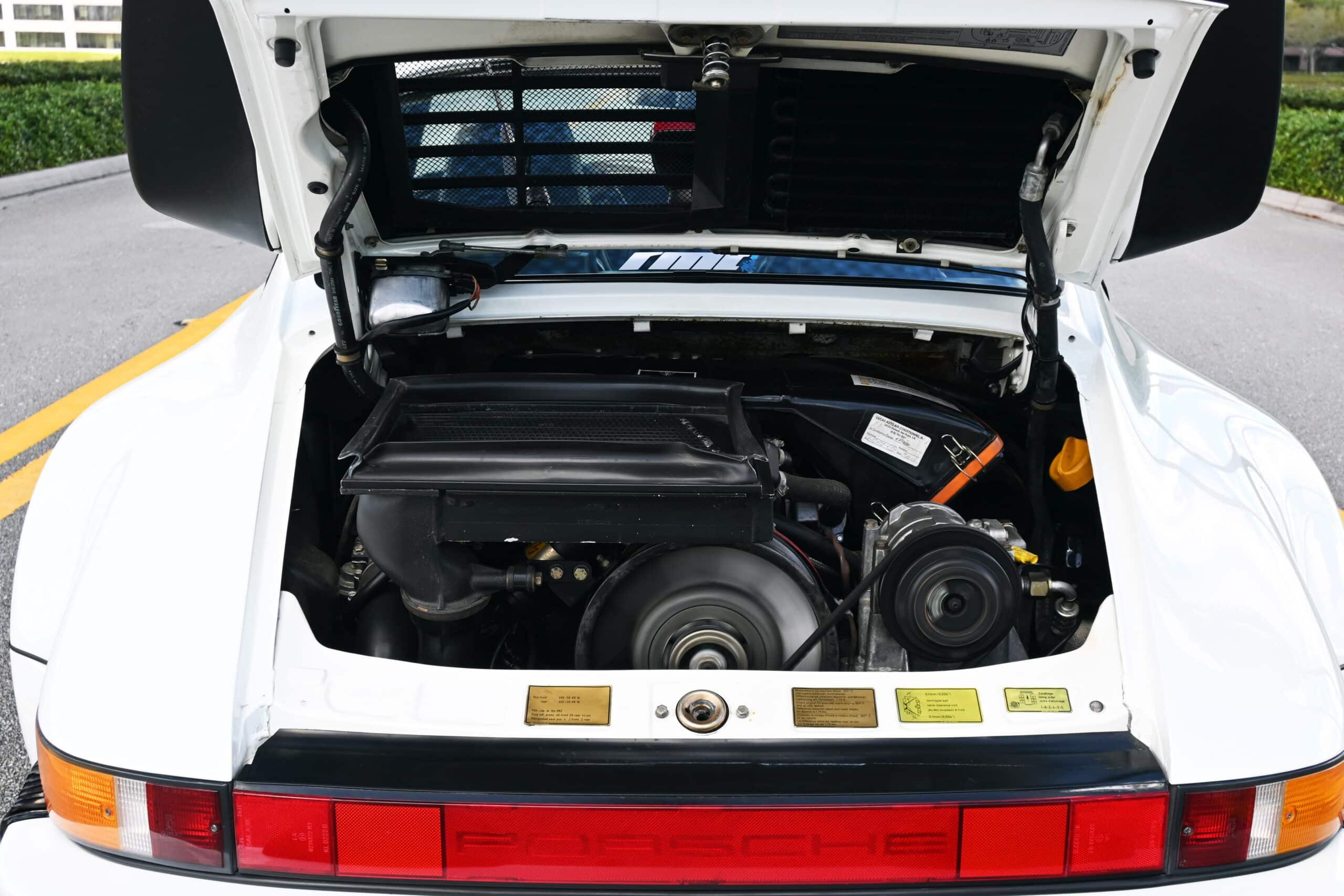 1987 Porsche 911 (930) Turbo, just 40K documented miles since new, Original paint, California car, CoA