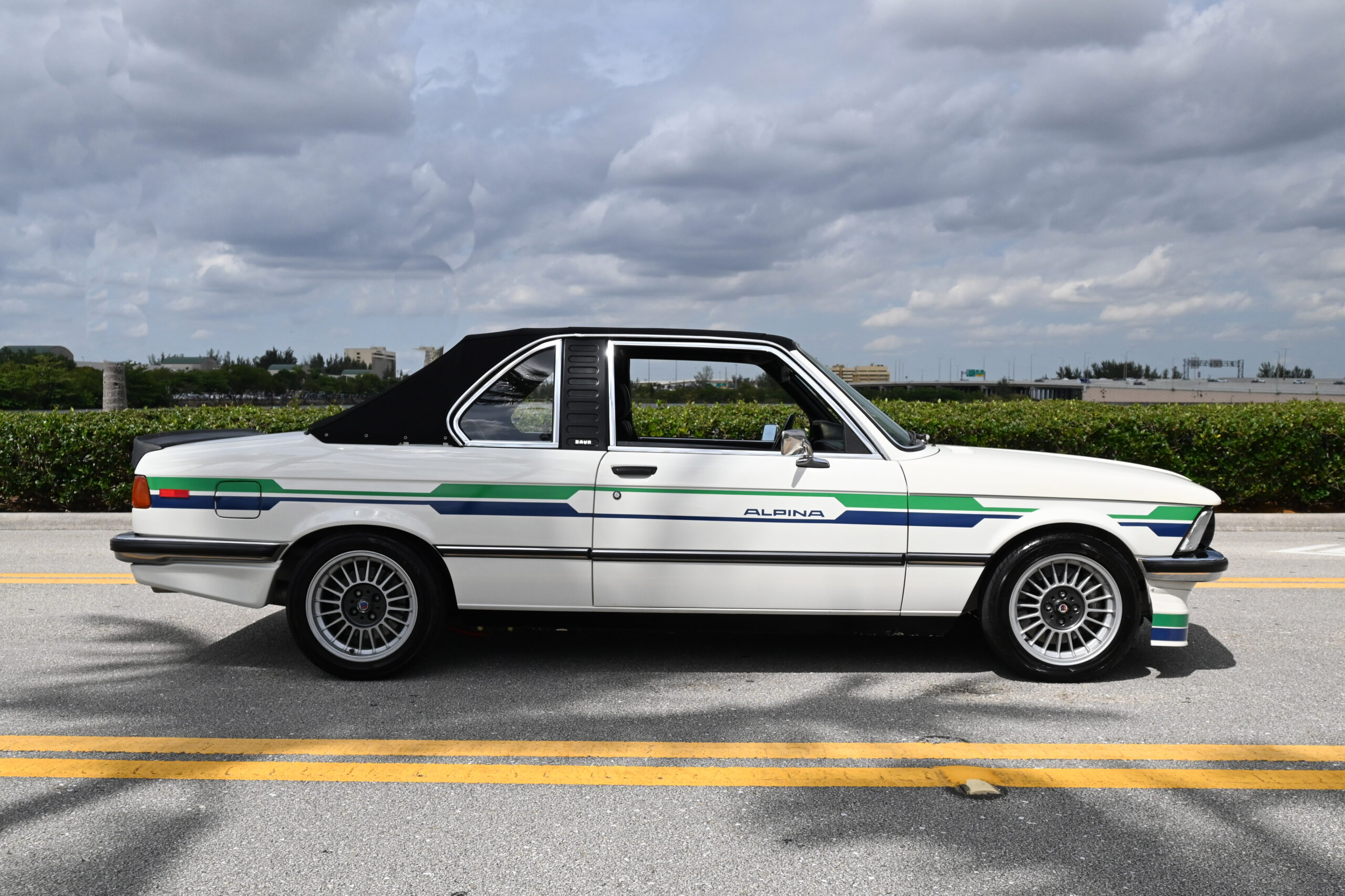 1979 BMW 320 Baur.  Rare authentic Baur coach work, Alpina upgrades, Schnitzer 2.7 Stroker Engine, Big Brakes incredible build