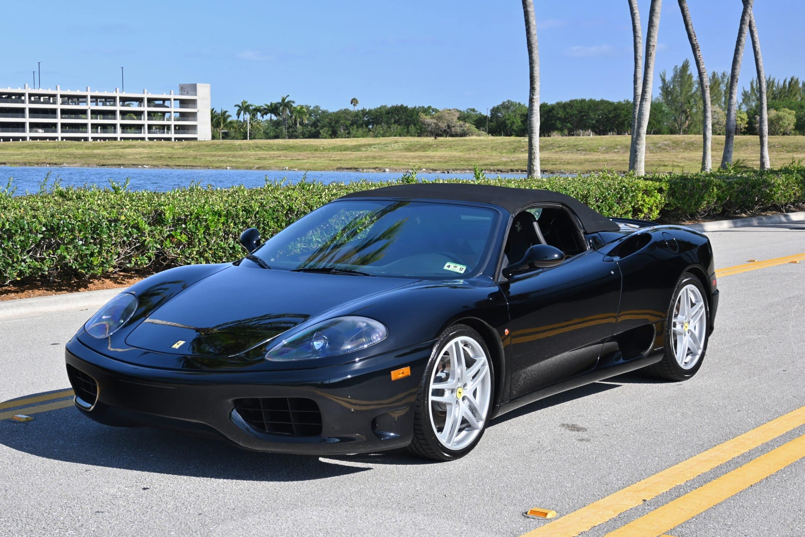 2001 Ferrari 360 Spider Boost Logic TWIN TURBO 550+HP- Fresh Belt Service- Clean Carfax- Service Records
