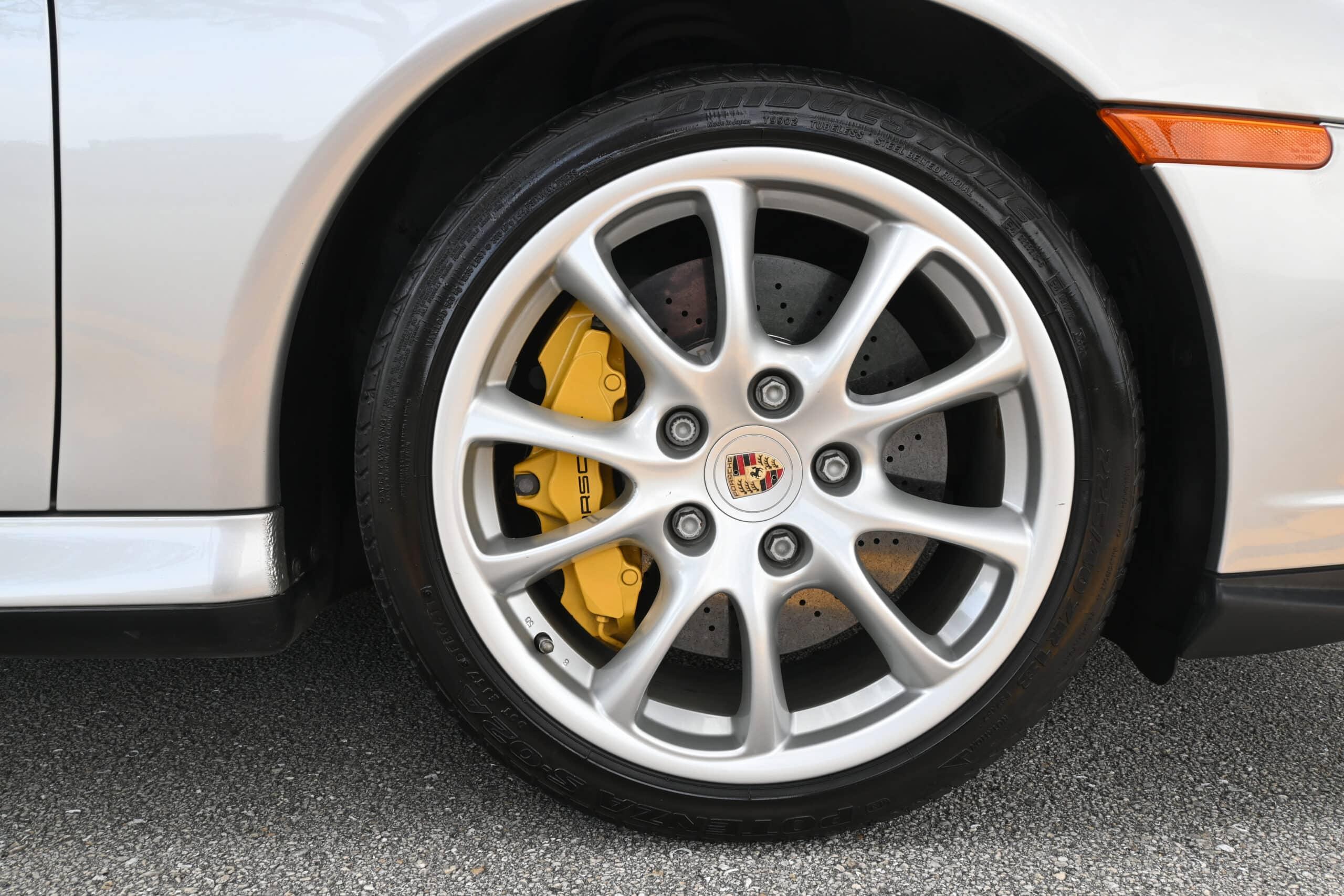 2005 Porsche 996 Turbo S, Rare Manual 6-speed Coupe in desirable Arctic Silver, Ceramics, Florida Car, Porsche CoA, Window Sticker