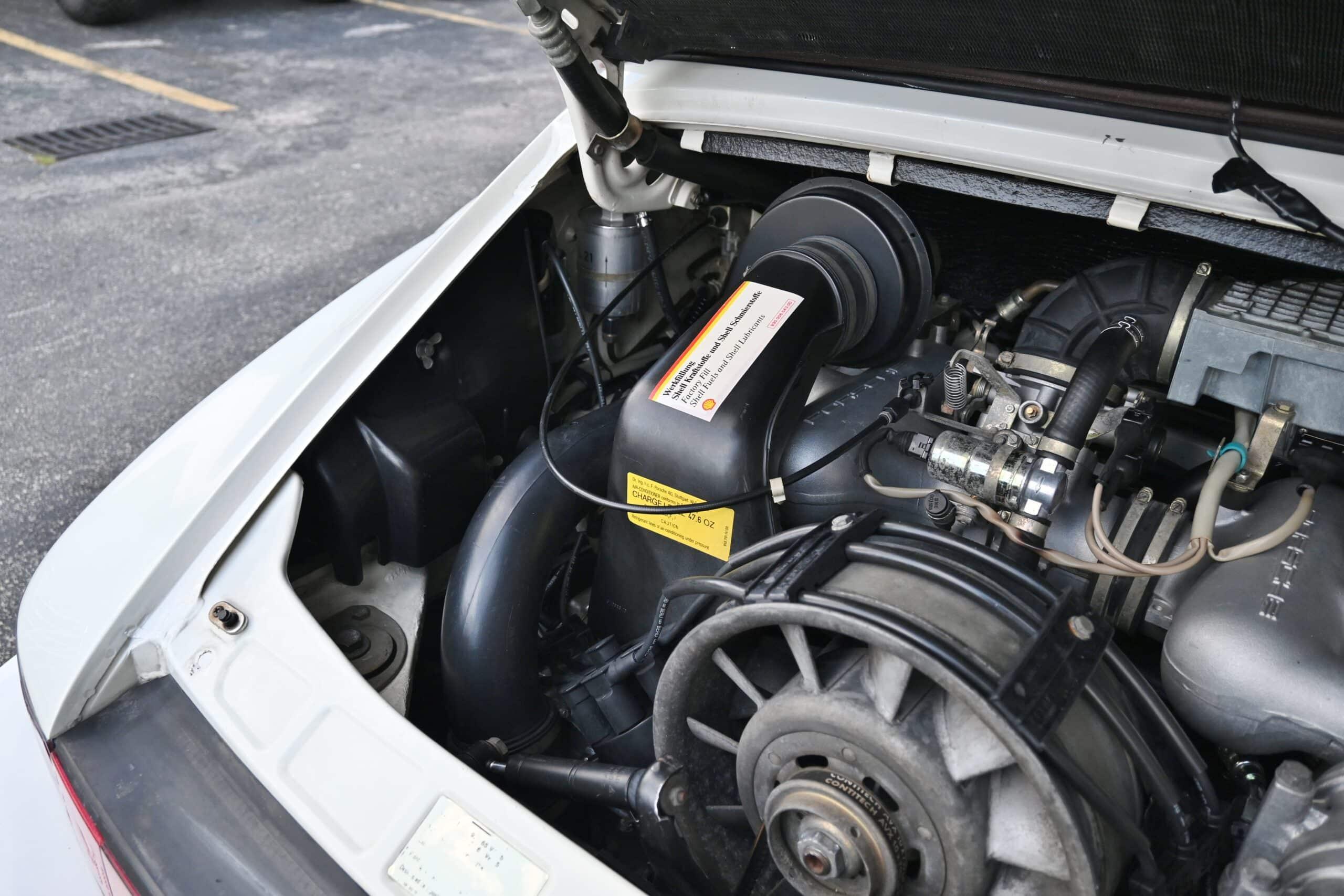 1988 Porsche 911 Slant nose Turbo Look All metal widebody- G50 5 speed Manual – Recaro Seats – Major service just done