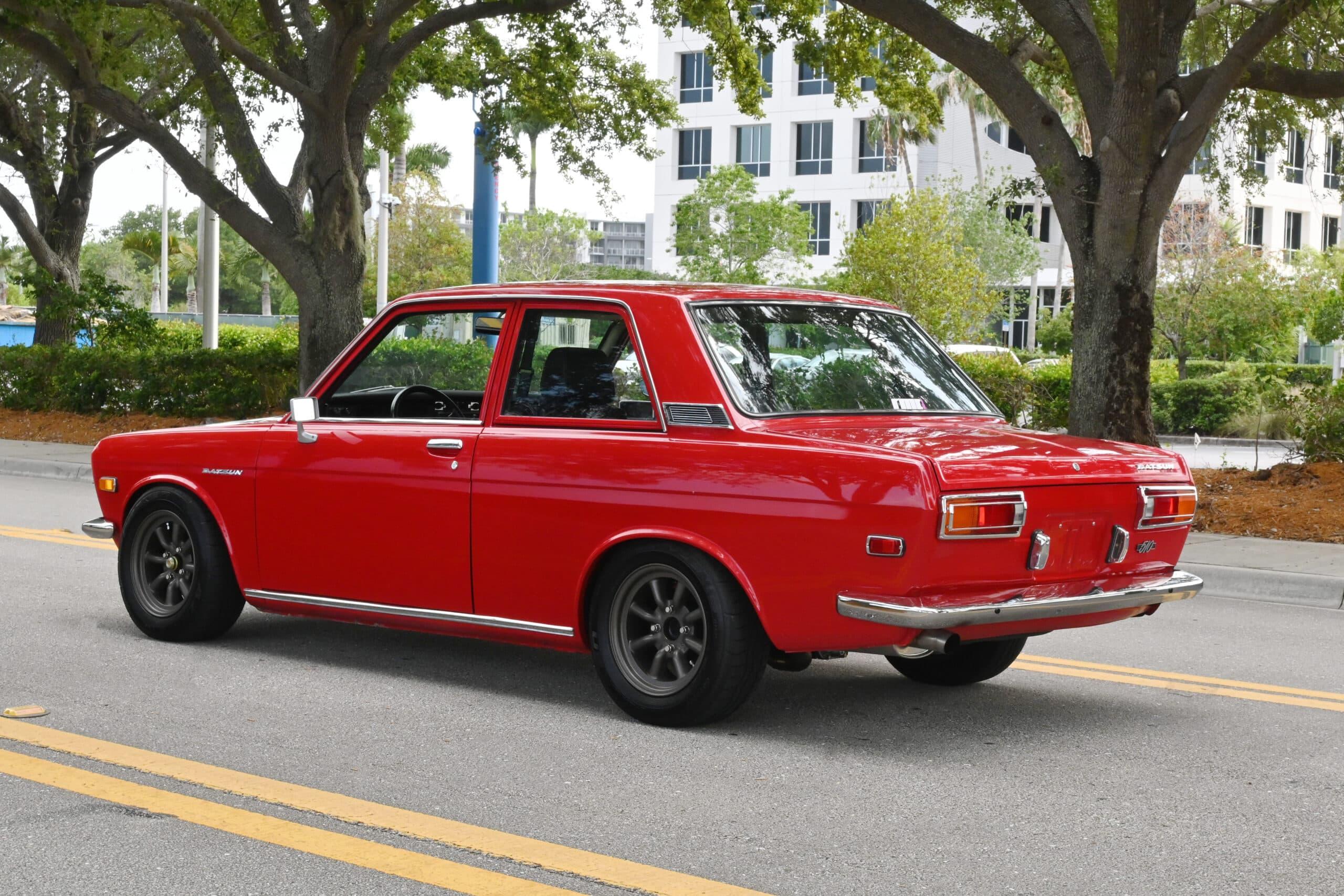 1971 Datsun 510, Extensive performance-oriented restoration Rebello built 2.4L stroker, 5-speed, LSD, Watanabe wheels, Mikuni Side Draft Carburetors, California Car.