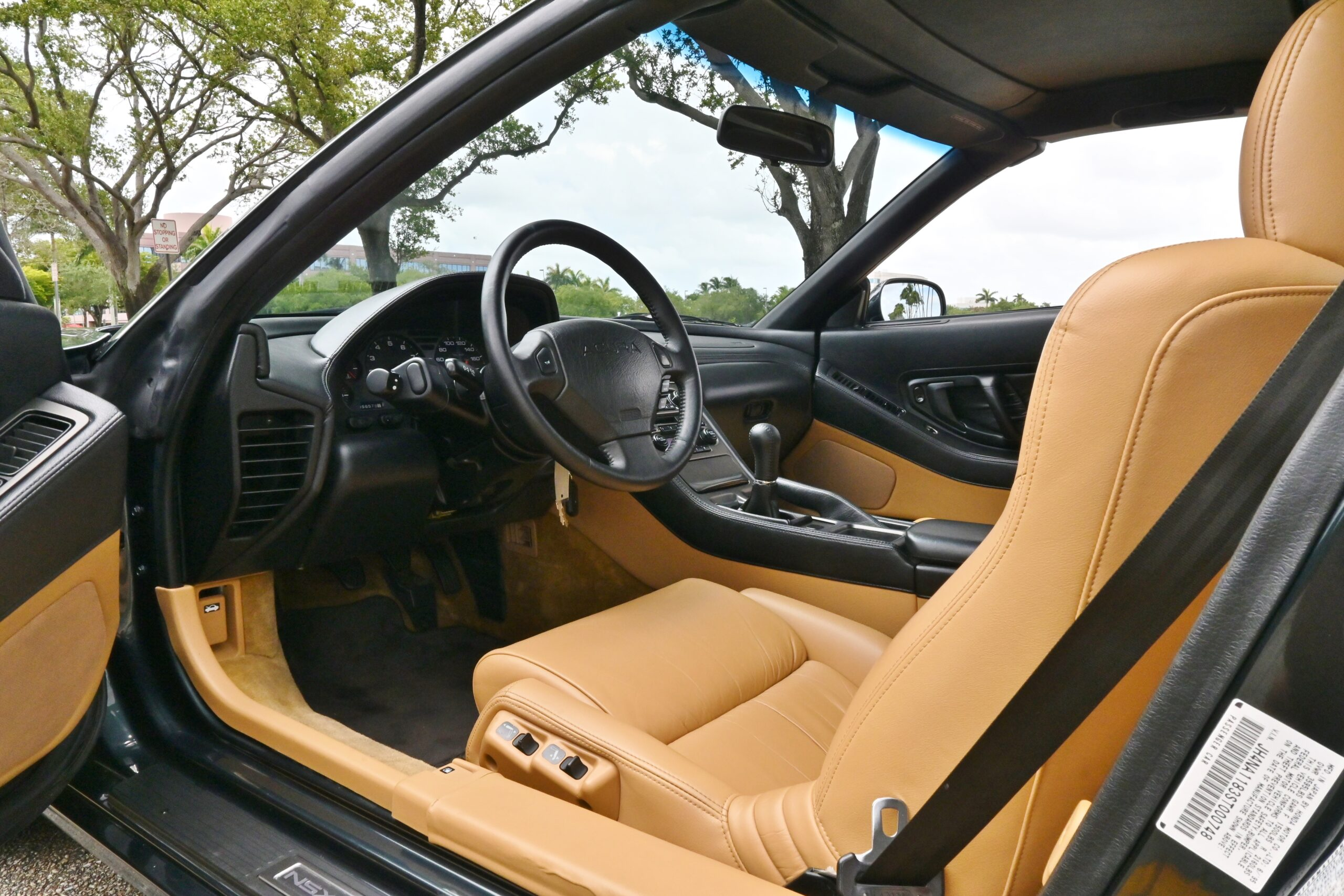 1995 Acura NSX T 1 of 67 In This Color Combo-Only 56K Miles -5 Speed Manual-100% Stock -Like New