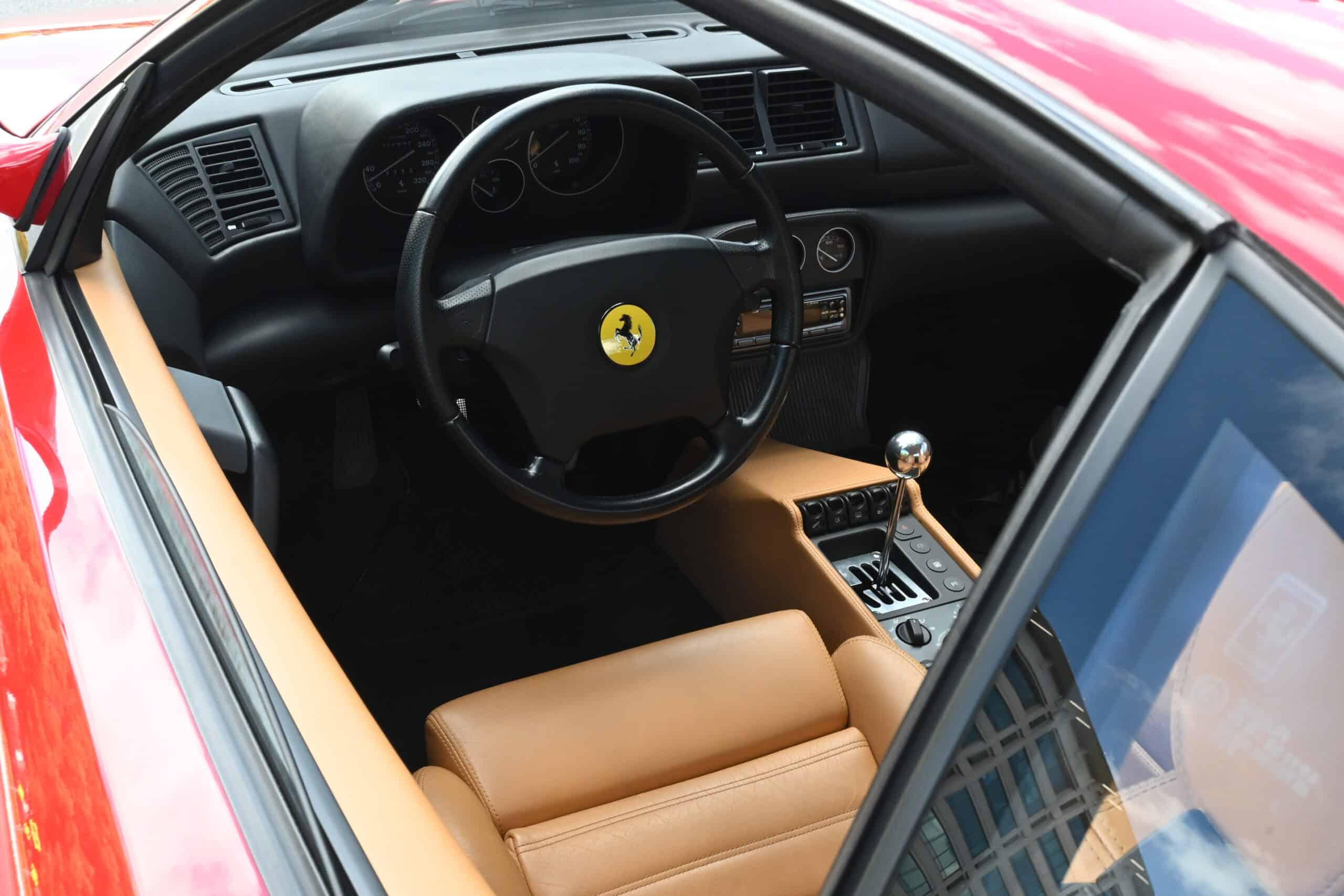 1996 Ferrari F355, 7K miles, Gated 6-speed Berlinetta, Serviced in April, Swiss market Car, 2 owners, original paint, unmolested