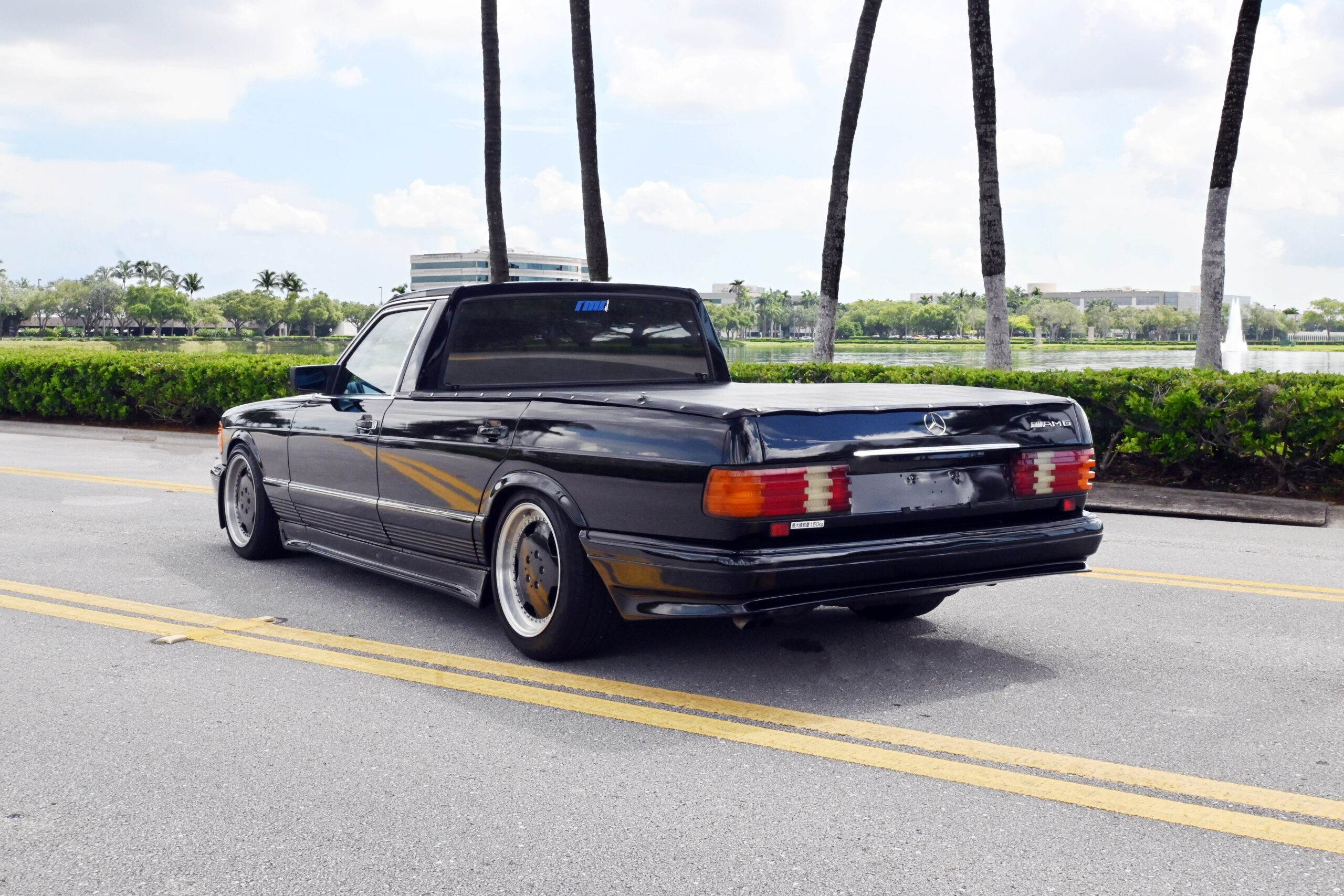"1983 Mercedes 500SE ""El Benzo"", El Camino Benz build"