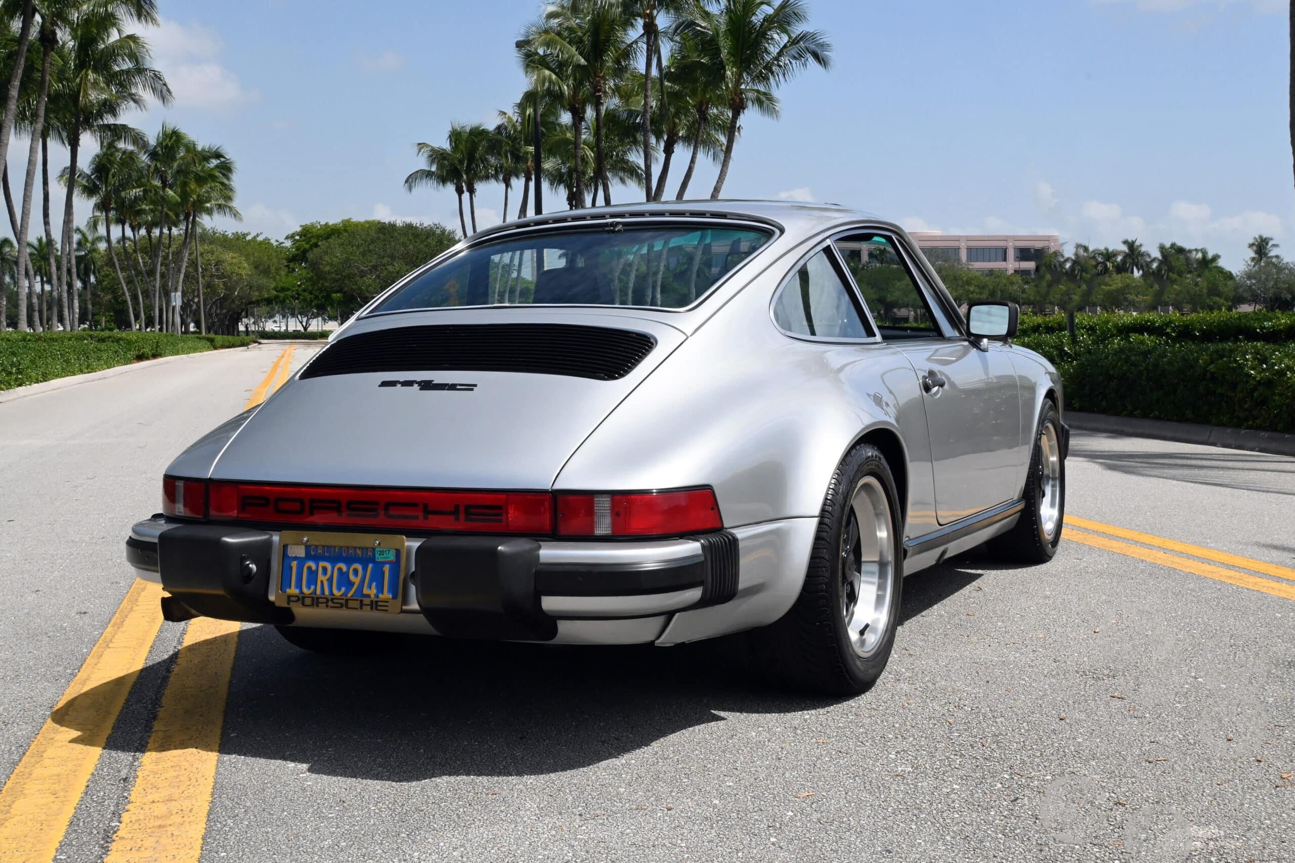 1979 Porsche 911 SC, only 79K miles since new, California car, 930 Turbo Fuchs, Desirable Silver Metallic, Rust Free