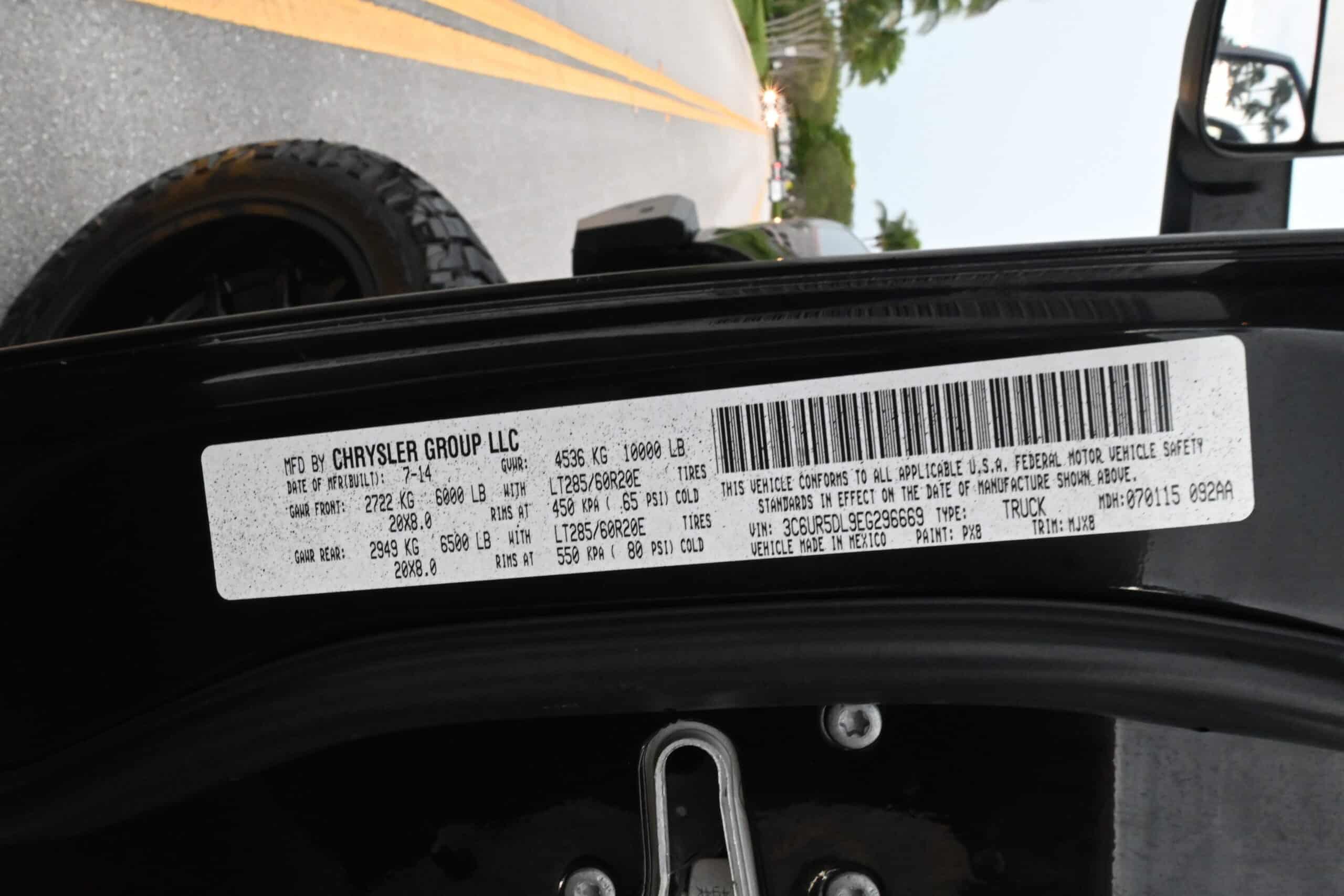 2014 Dodge Ram 2500 Big Horn Crew Cab 4×4 6.7L Cummins Turbo Diesel – Built Motor/ Trans – BDS 8 inch lift – 5 Stage Tune
