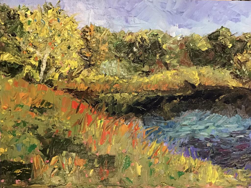 The Pond by Joy George